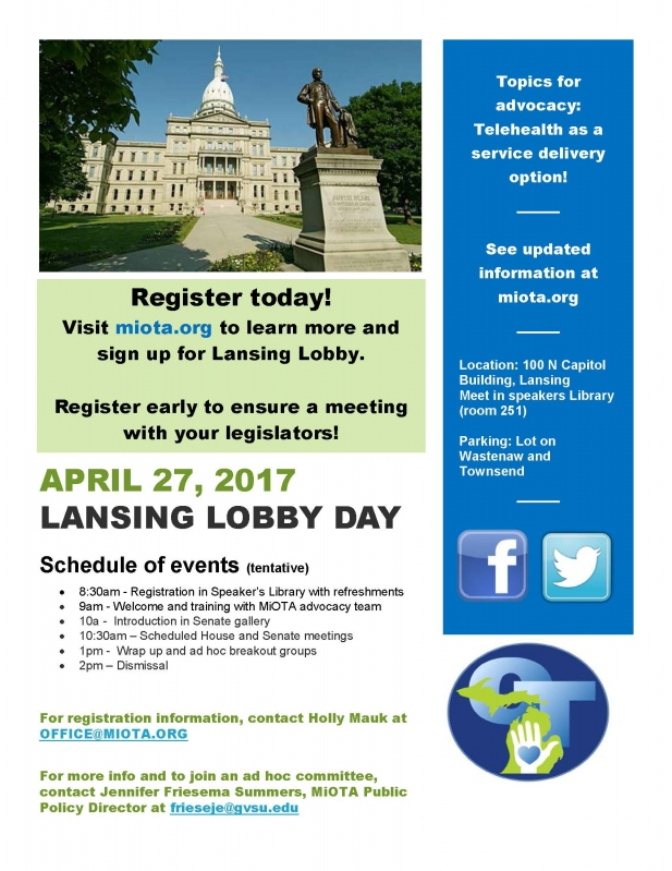 Lansing Lobby Day Registration