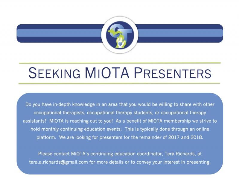 Requesting Presenters
